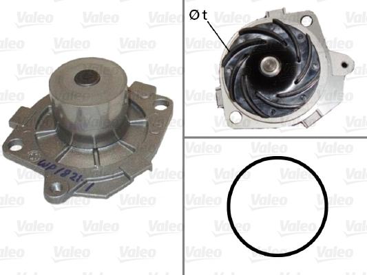 Pompe à eau - VALEO - 506590