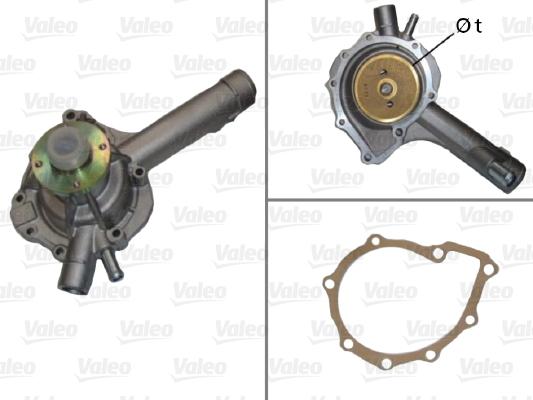 Pompe à eau - VALEO - 506592