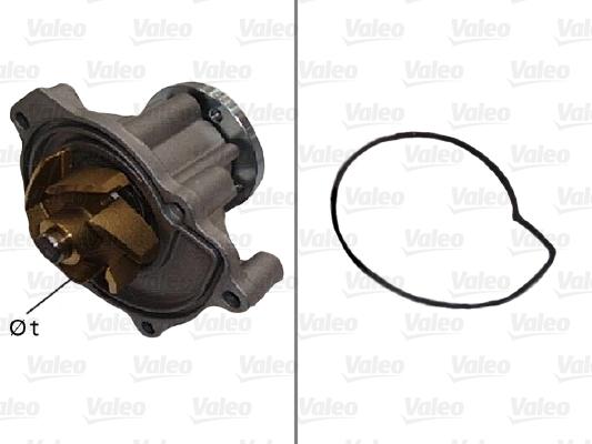 Pompe à eau - VALEO - 506593