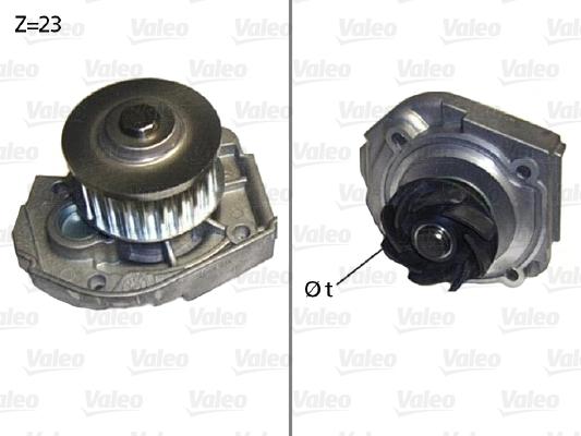 Pompe à eau - VALEO - 506598