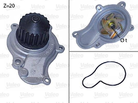 Pompe à eau - VALEO - 506605