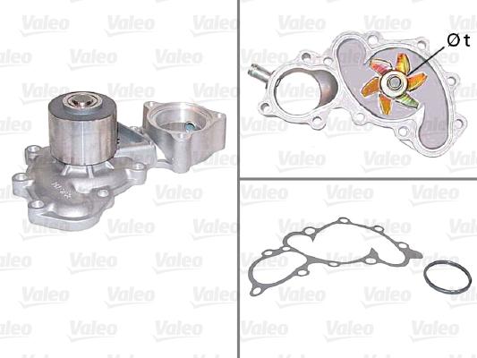 Pompe à eau - VALEO - 506608