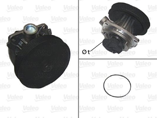Pompe à eau - VALEO - 506613