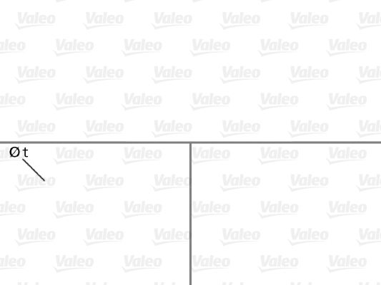 Pompe à eau - VALEO - 506620