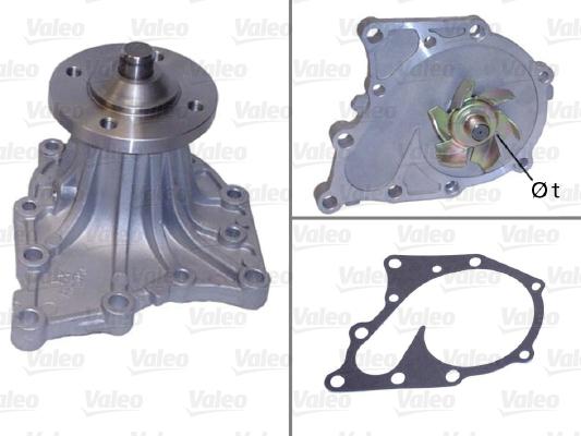 Pompe à eau - VALEO - 506625