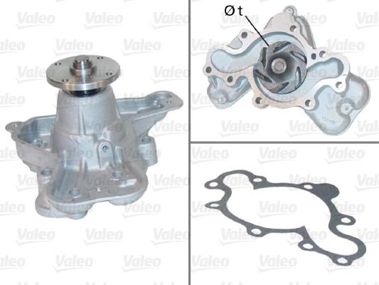 Pompe à eau - VALEO - 506626