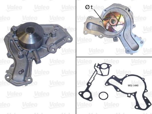 Pompe à eau - VALEO - 506633