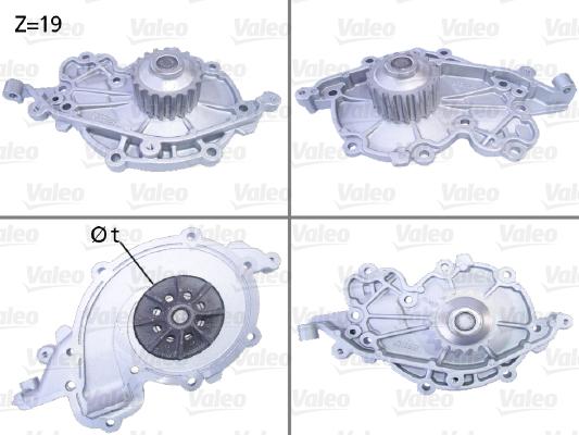 Pompe à eau - VALEO - 506637
