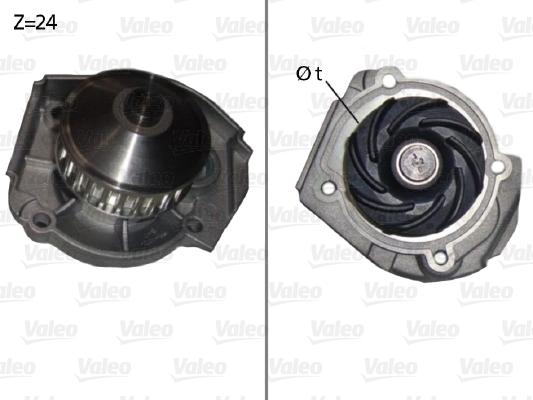 Pompe à eau - VALEO - 506640