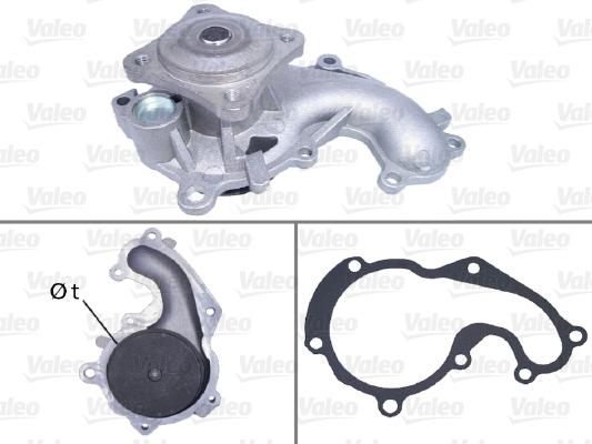 Pompe à eau - VALEO - 506641