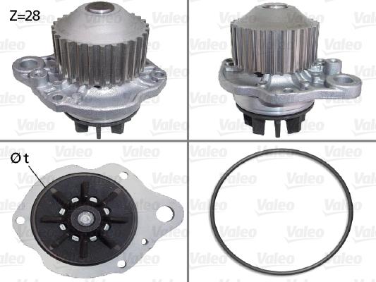 Pompe à eau - VALEO - 506643