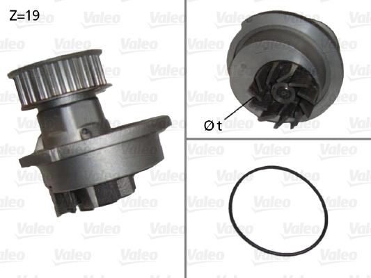 Pompe à eau - VALEO - 506647
