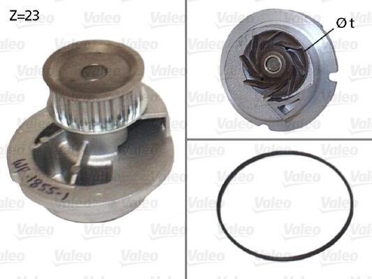 Pompe à eau - VALEO - 506656