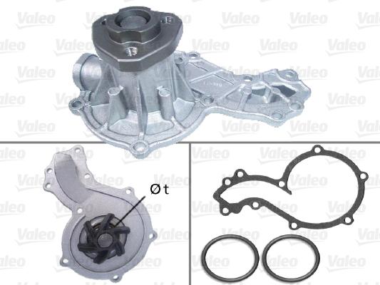Pompe à eau - VALEO - 506666