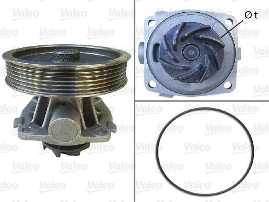 Pompe à eau - VALEO - 506669