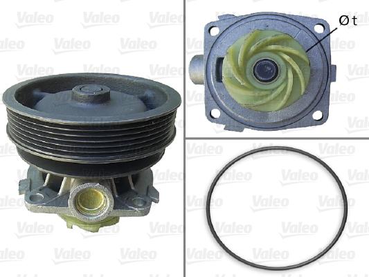 Pompe à eau - VALEO - 506670