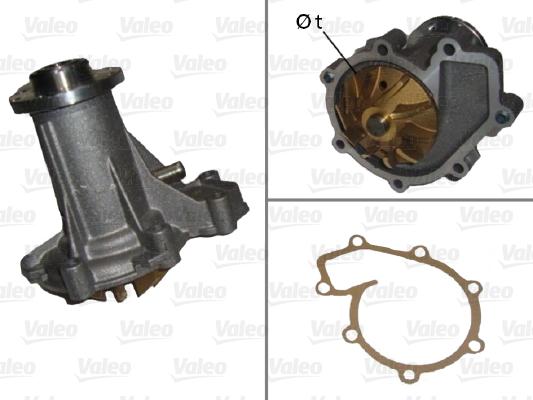 Pompe à eau - VALEO - 506671
