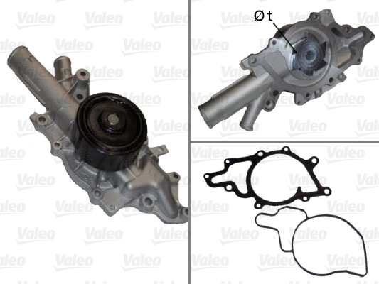 Pompe à eau - VALEO - 506676