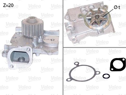Pompe à eau - VALEO - 506685