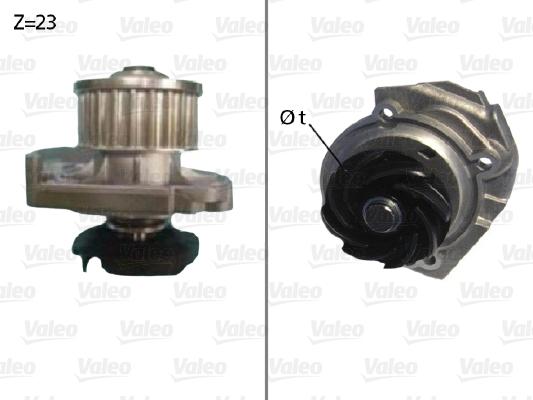Pompe à eau - VALEO - 506686
