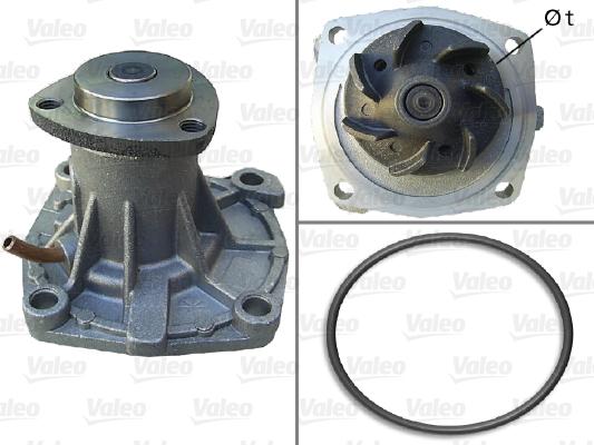 Pompe à eau - VALEO - 506692