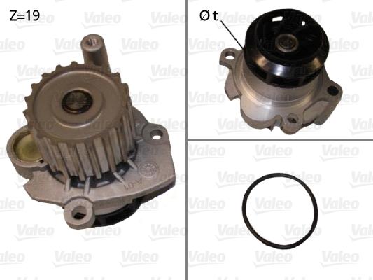 Pompe à eau - VALEO - 506701