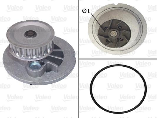 Pompe à eau - VALEO - 506703