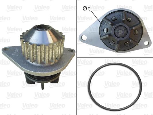 Pompe à eau - VALEO - 506704
