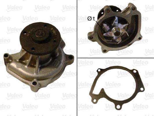 Pompe à eau - VALEO - 506708