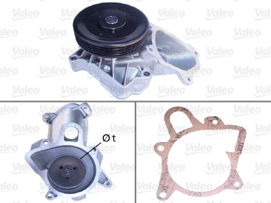 Pompe à eau - VALEO - 506710