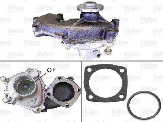 Pompe à eau - VALEO - 506712