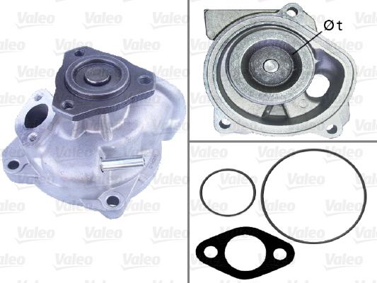 Pompe à eau - VALEO - 506713