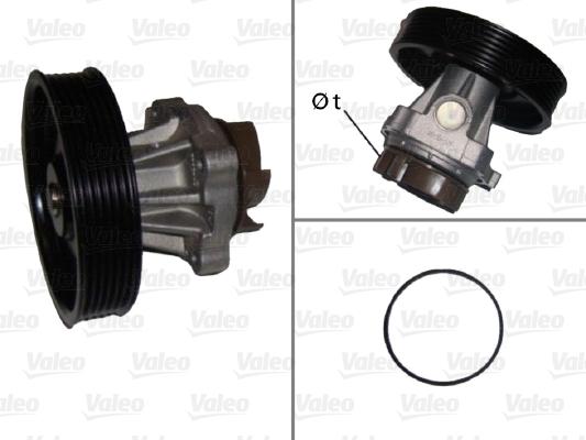 Pompe à eau - VALEO - 506716