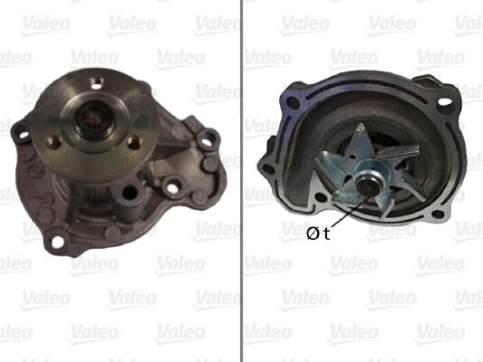 Pompe à eau - VALEO - 506717