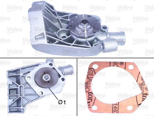 Pompe à eau - VALEO - 506730