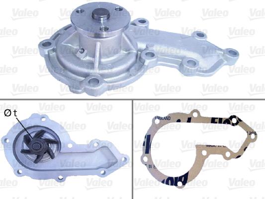 Pompe à eau - VALEO - 506732
