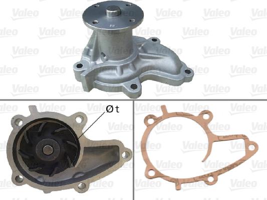 Pompe à eau - VALEO - 506737