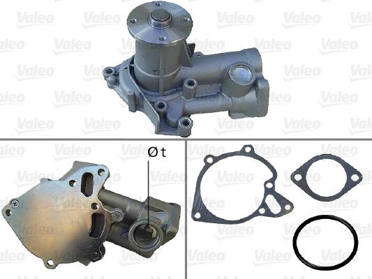 Pompe à eau - VALEO - 506778