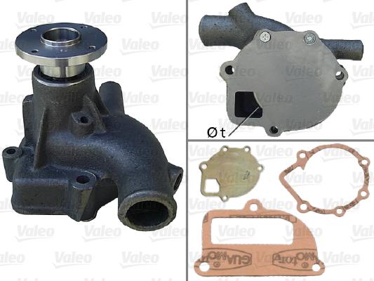 Pompe à eau - VALEO - 506779