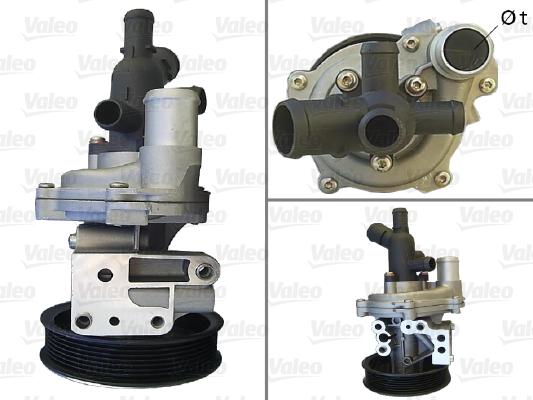 Pompe à eau - VALEO - 506789