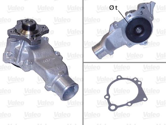 Pompe à eau - VALEO - 506795