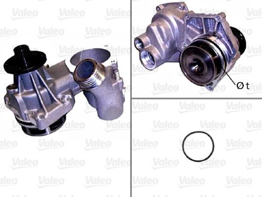 Pompe à eau - VALEO - 506799