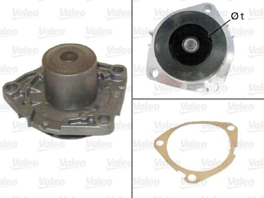 Pompe à eau - VALEO - 506808