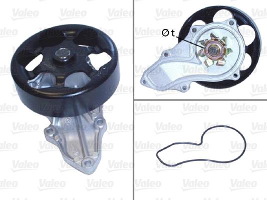 Pompe à eau - VALEO - 506810