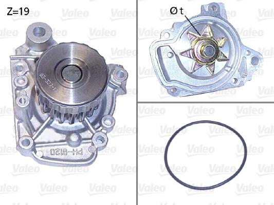 Pompe à eau - VALEO - 506811