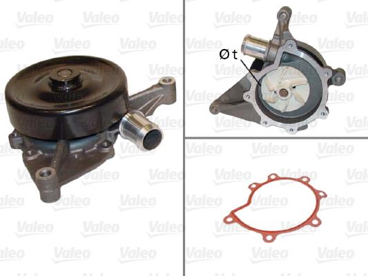 Pompe à eau - VALEO - 506821