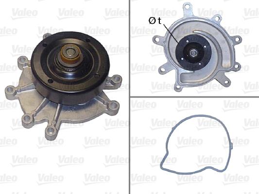 Pompe à eau - VALEO - 506823