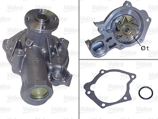 Pompe à eau - VALEO - 506827