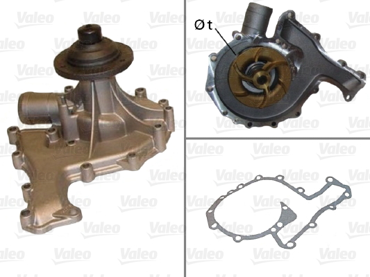 Pompe à eau - VALEO - 506830