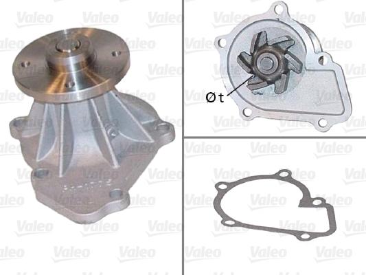 Pompe à eau - VALEO - 506836